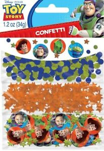 TOY-STORY-CONFETTI-BUZZ-amp-WOODY-PARTY-SUPPLIES-CONFETTI-TABLE-DECORATIONS-34g