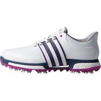 Men'sadidas Tour 360 Boost Golf Shoes White/pink F33481- Pick A Size