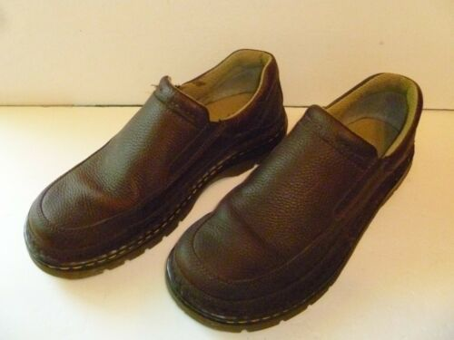 Dr Martens Brown leather loafers mens US size 9M D