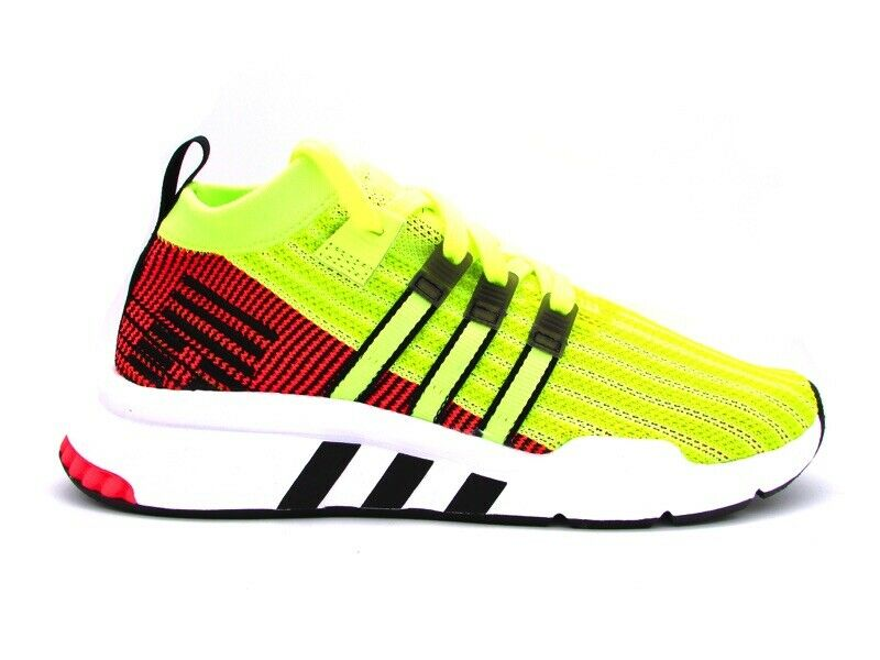 Adidas EQT Support Medium-Adv Pk Sneakers Yellow Fluorescent Luminous orange