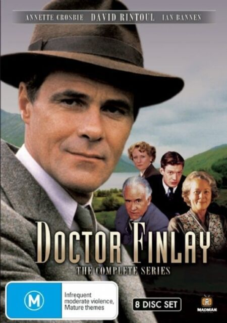 Doctor Finlay - Complete Series (DVD, 2008, 8-Disc Set) LIKE NEW