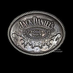 CON-LICENCIA-JACK-DANIEL-S-WHISKY-Licencia-Hebilla-De-Cinturon-404