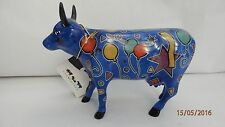 """COW PARADE MEDIUM, """"PARTY COW"""", NEW YORK, U.S.A. .2001 BOXED PERFECT COND. #9178"""