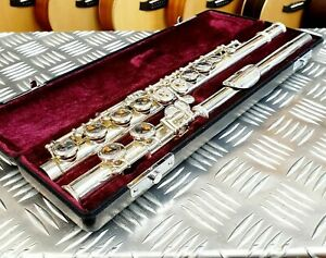 Jupiter-JFL-511E-II-Flute-outfit-great-condition-complete-with-case-and-bag