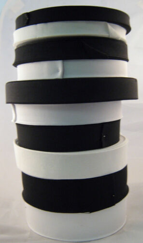 Top Quality Flat Woven Elastic in Black or White