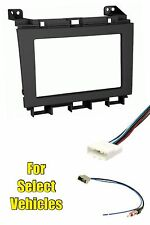 Double Din Radio Kit Combo for some 2009 2010 2011 2012 2013 2014 Nissan Maxima