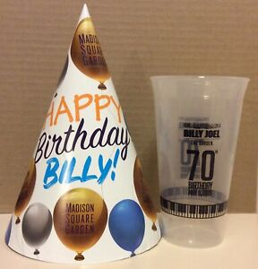 Image Is Loading BILLY JOEL 70TH BIRTHDAY BASH OFFICIAL CUP Amp