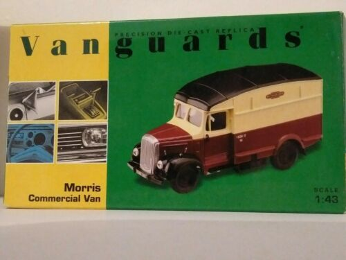 Vanguards 143 Morris Commercial Van Limited Edition British Railways