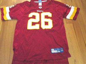 competitive price a8a41 7fec9 Details about REEBOK NFL EQUIPMENT WASHINGTON REDSKINS CLINTON PORTIS  JERSEY SIZE YOUTH L