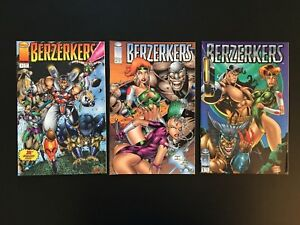 Berzerkers Comics #s 1-3 (Image, 1995) - Complete Series - High Grade NM