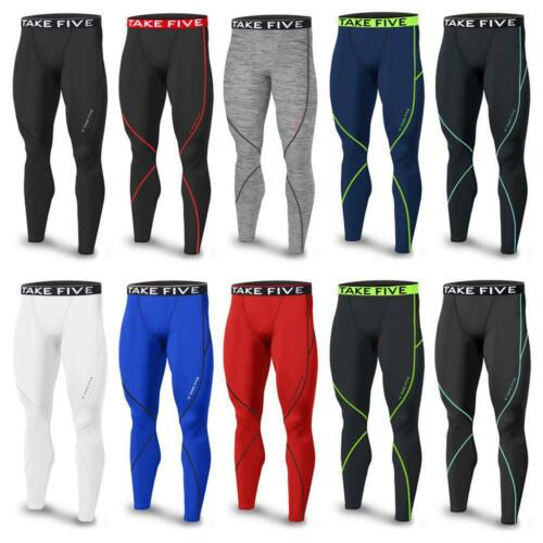 Mens Baselayer Sports Compression THERMAL Winter Pants Tights Sportswear Skins