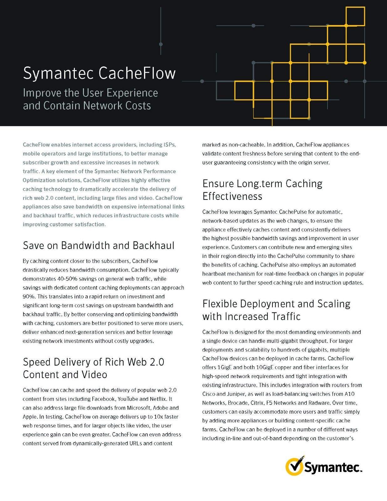 Symantec Blue Coat CacheFlow CF500MX Appliance 5000 Series Load Balancing  Device