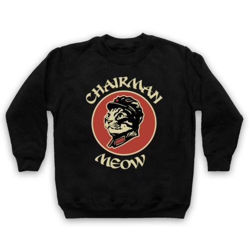 FUNNY CHAIRMAN MEOW MAO CAT UNOFFICIAL PARODY LEADER ADULTS /& KIDS SWEATSHIRT