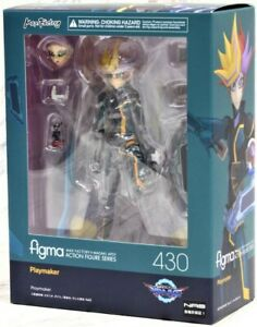 NEW-Good-Smile-Company-Max-Factory-Figma-430-Yu-Gi-Oh-VRAINS-Playmaker-Figure