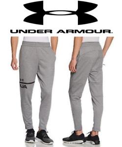 Nouveau UA Under Armour Men/'s French Terry TAPERED pantalon 2XL 3XL gris 035