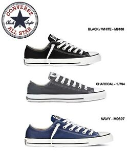 89cf1a40abee NEW - CONVERSE ALL STAR CHUCK TAYLOR Ox Low Top Canvas Shoes ...