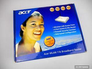 Acer-WLAN-11b-Router-Kit-mit-Router-USB-WLAN-Dongle-und-PCMCIA-Karte