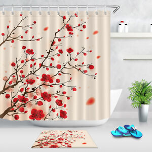 Image Is Loading 72x72 039 Plum Blossom Spring Shower Curtain