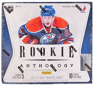 NIB 2011/12 Panini Rookie Anthology Trading Cards NHL Hockey Hobby Sealed Box