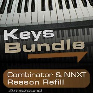 40-PIANOS-64-RHODES-amp-ELECTRIC-PIANOS-64-HAMMONDS-REASON-REFILL-BUNDLE