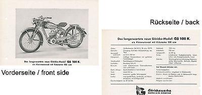 Yamaha XV 1100 Virago Prospekt 1998 brochure Motorrad Motorradprospekt Broschüre