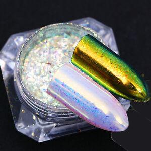 BORN-PRETTY-Matte-Mirror-Nail-Glitter-Powder-Chrome-Chameleon-Sequins