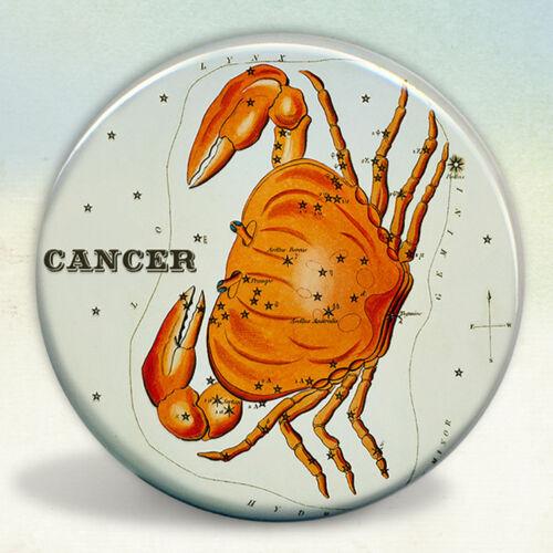 Constellation of Cancer Zodiac Sign Pocket Mirror