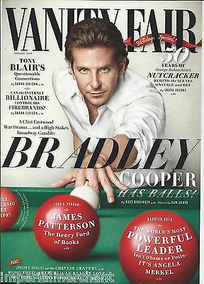 Vanity Fair magazine Bradley Cooper Tony Blair The Nutcracker James Patterson