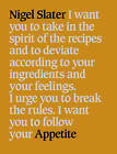 Appetite: So What Do You Want to Eat Today? by Nigel Slater (Paperback, 2001)
