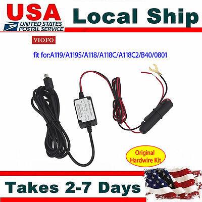 Original Viofo Hardwire Kit for A119 A119S A118 A118C A118C2 B40 Car Camera DVR