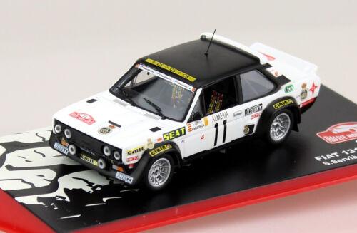 Fiat 131 Abarth Rally Monte Carlo 1978 #11 1:43 Ixo//Altaya Modellauto Die-cast