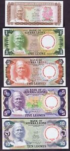 SIERRA-LEONE-1980-COMMEMORATIVE-ISSUE-LTD-to-1800-SETS-P-9-13-AFRICAN-UNITY