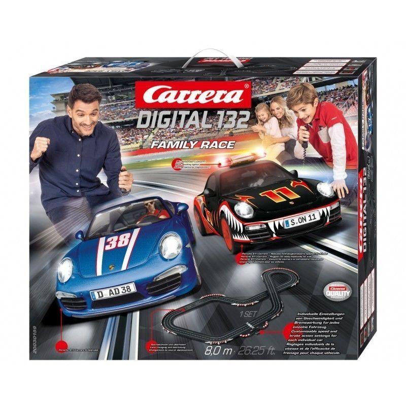 family race digital  track 1:32 pista rennbahn carrera piste slotcar 20030199