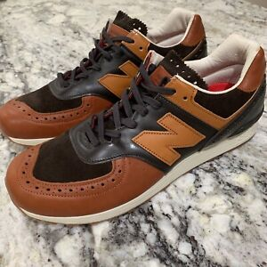 promo code 03e54 b2ba2 Details about New Balance M576GSN Grenson X New Sz 9.5 leather England Rare  Phase 2