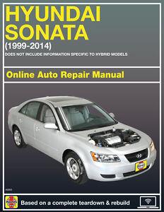 2006 hyundai sonata haynes online repair manual select access ebay rh ebay com 2006 hyundai sonata service manual 2006 hyundai sonata repair manual download