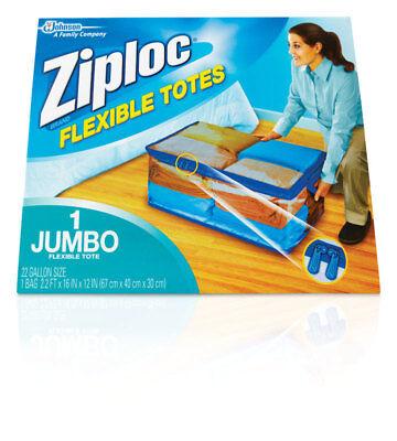 Ziploc Flexible Jumbo Xxl 22 Gallon Totes 70162