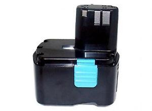 DS 14dvf2 DS 14dvb2 Power smart 14.40v 4000mah Batterie pour Hitachi DS 14dv