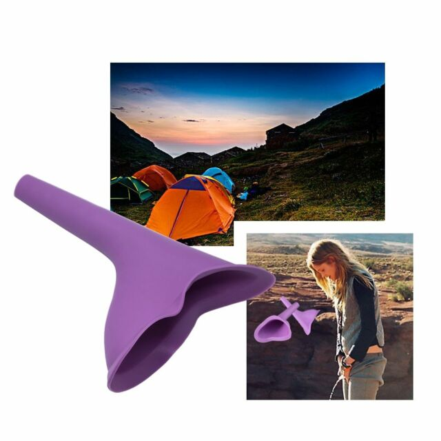 Portable Women Girl Field Urinal Resin Urination Toilet Urine Device Camping