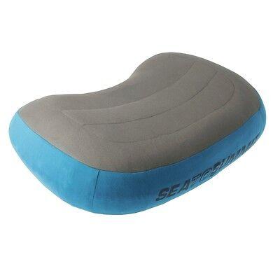 Sea to Summit Aeros Pillow Premium Regular Blue Free Int/'l Standard Shipping