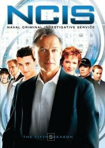 NCIS-The-Fifth-Season-5-Discs-DVD-Region-1