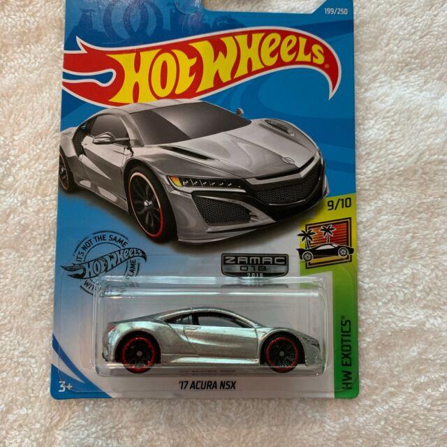 Hot Wheels '17 Acura NSX ZAMAC 018 2019