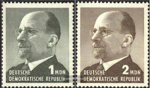 DDR-1087-1088-kompl-Ausgabe-postfrisch-1965-Walter-Ulbricht
