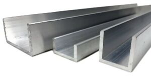 Aluminium-U-channel-C-profile-various-sizes-up-to-1000mm-lenght