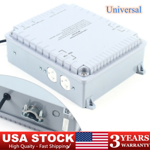 4 Outlet Hydroponics Indoor Grow Light Relay Controller Box HID Grow Lamp USA