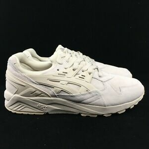 9d738fc790f Details about Asics Gel Kayano Trainer Cream White Birch Suede Mono Low Top  Lace H7T2L-0202