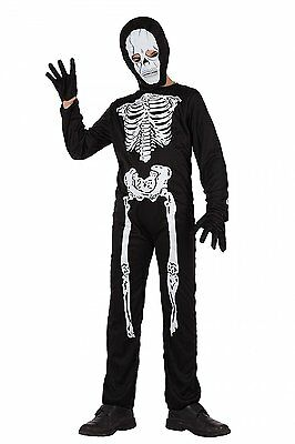 Costume Carnevale/halloween Bambino Scheletro 5-6 Anni 70336 Fornire Servizi Per Le Persone; Rendere La Vita Più Facile Per La Popolazione