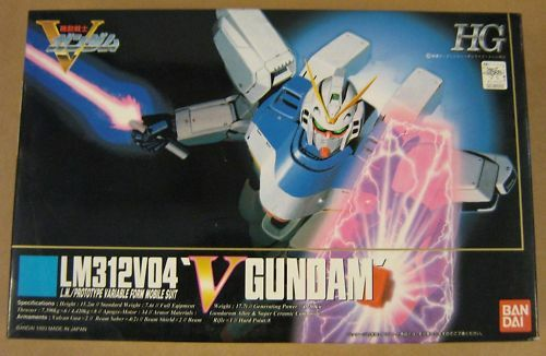 FIGURE - VICTORY GUNDAM MODEL LM312V04, NEW IN BOX