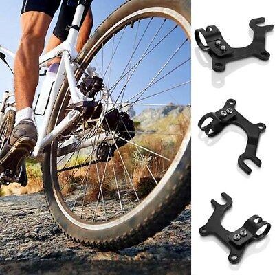 Adjustable Black Bike Disc Brake Bracket Rear Frame Adaptor Mounting Holder Hot
