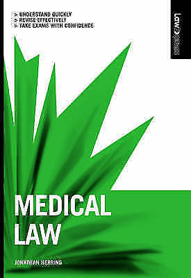 (Good)-Medical Law (Law Express) (Paperback)-Herring, Jonathan-140587290X