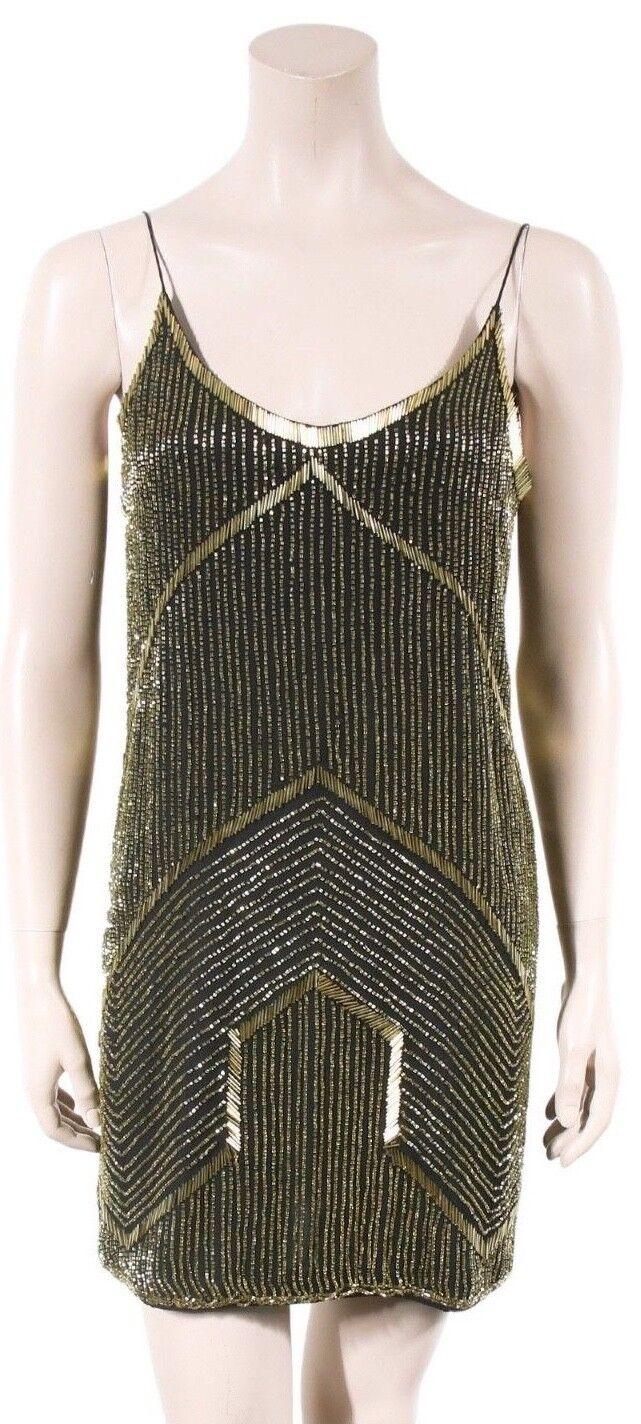 PARKER Beaded Dress (SIZE (SIZE (SIZE S) 05a38b